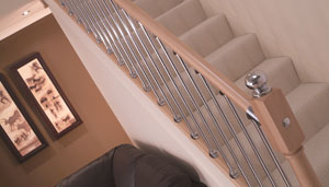 Axxys with Chrome Balusters