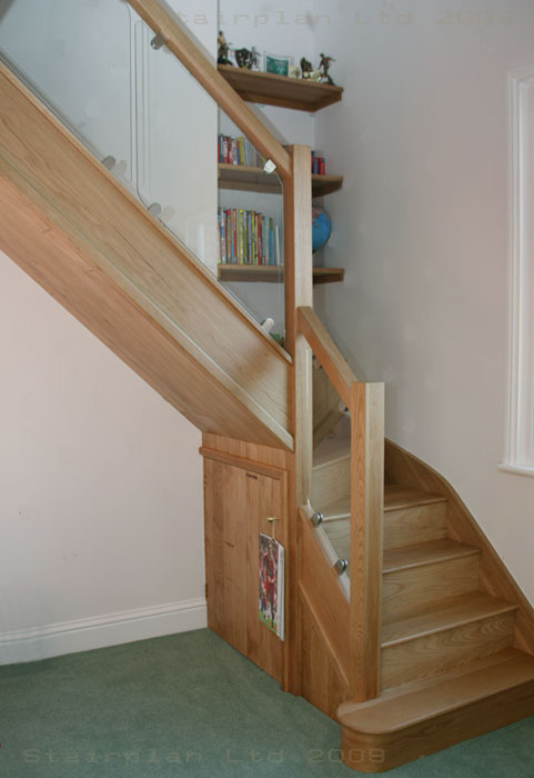 Vision Style Bsalustrading on a Oak Staircase