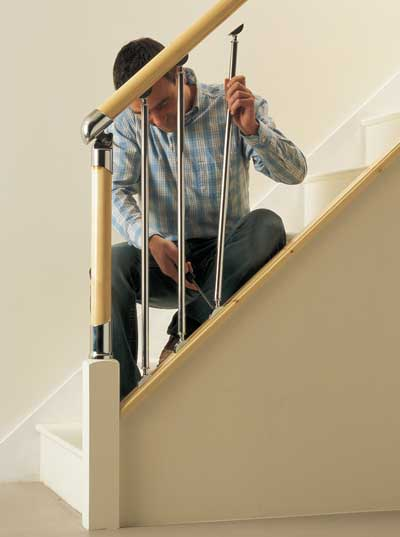 The Fusion staircase balusters