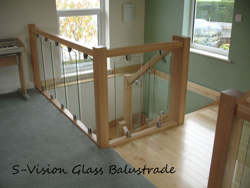 S-Vision The New solution for Glass Balustrade Systems