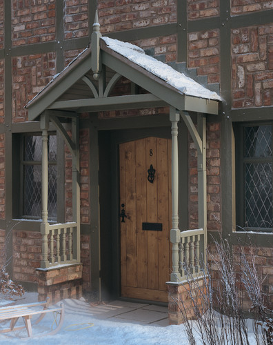 Apex porch canopy kit entrance porch