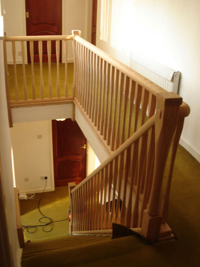 Staircase and Landing with new parts